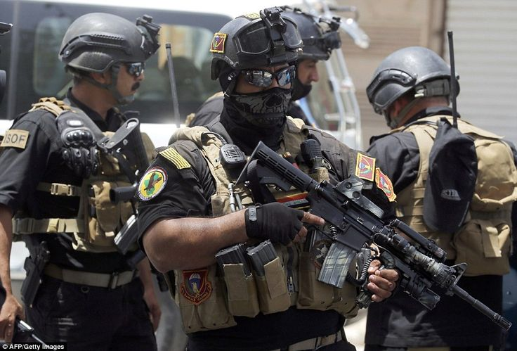 Members of the Iraqi Special Forces north of Baghdad 2014 [964 x 654]