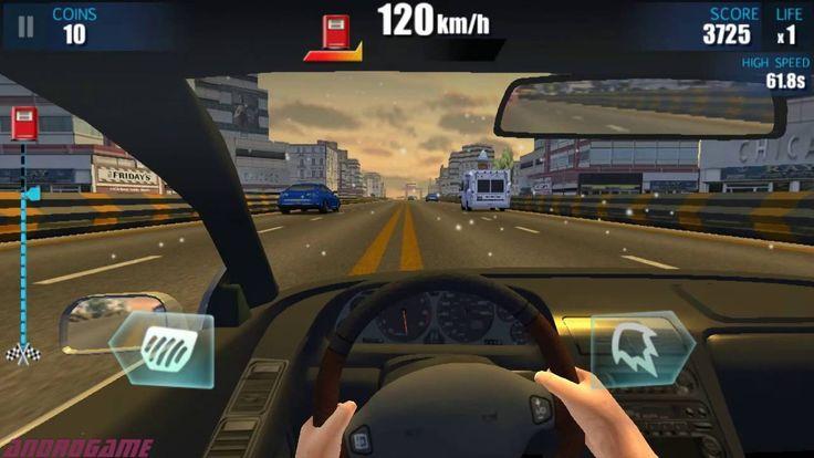 In Car Racing - Pengendara Mobil Cepat Dikejar Polisi