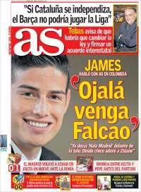 JAMES QUIERE A FALCAO Portada AS-Epana