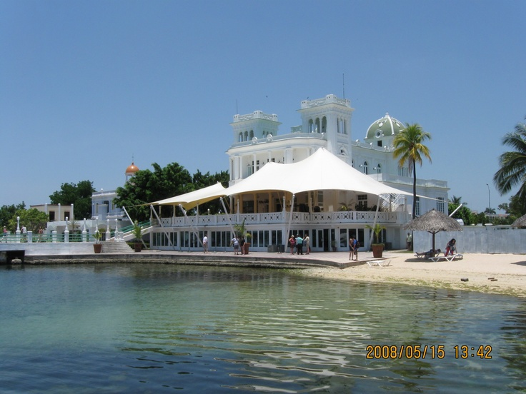 Marina restaurant in Cienfuegos, Cuba