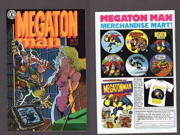 KITCHEN SINK MEGATON MAN #5 Don Simpson (Aug 1985) VF+ Comic Book RARE  | Collectibles, Comics, Copper Age (1984-1991) | eBay!