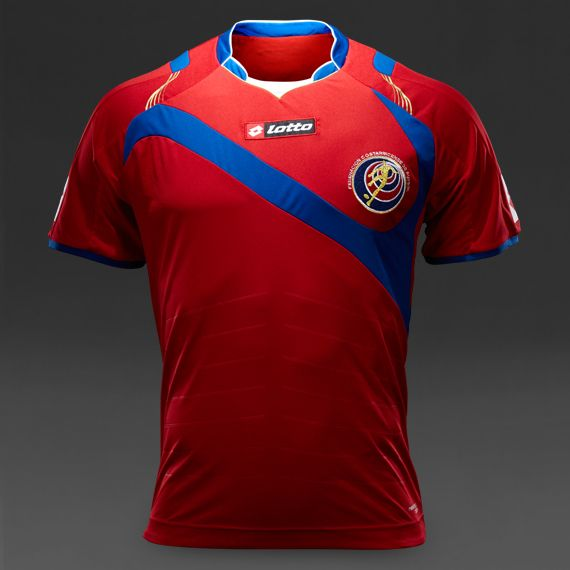 Lotto Costa Rica Home Shirt