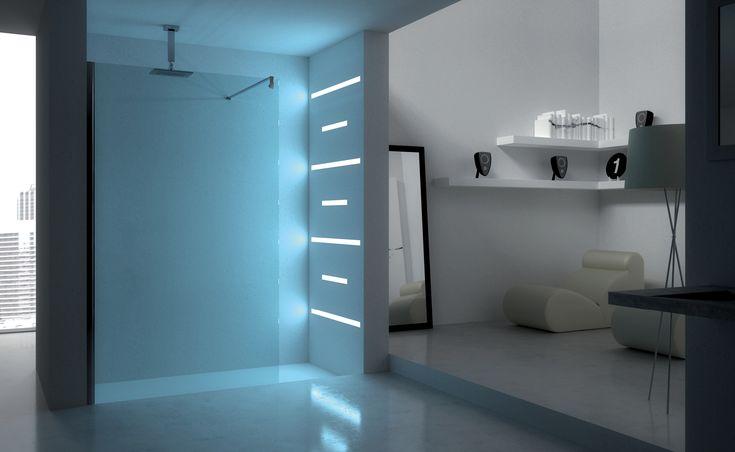 """La pellicola di sicurezza """"HIGH SAFETY SHOWER"""" di @boxdocceduebi , realizzati in poliestere applicata alle lastre in cristallo trasparenti delle nostre #cabinedoccia da 6 mm e da 8 mm accresce la resistenza del cristallo stesso. Per momenti di #relax in piena sicurezza. www.gasparinionline.ii -  #doccia #bagno #sicurezza #bathroom #design #shower"""