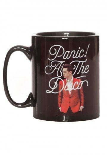Panic! At The Disco - Brendon Script - Mug - Official Rock Merchandise Online Shop - Impericon.com Worldwide