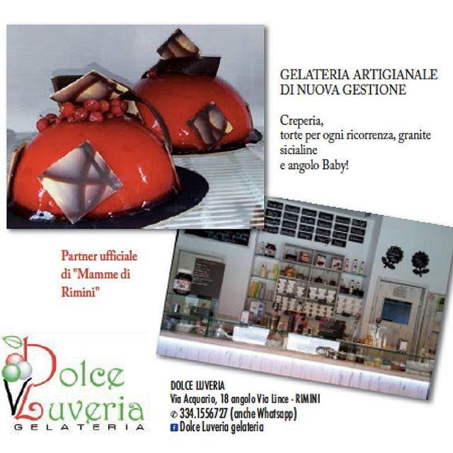 """GELATERIA ARTIGIANALE DI NUOVA GESTIONE Creperia, torte per ogni ricorrenza, granite siciliane e angolo Baby! Partner ufficiale di """"Mamme di Rimini"""" DOLCE LUVERIA Via Acquario, 18 angolo Via Lince - RIMINI ✆ 334.1556727 (anche Whatsapp) Dolce Luveria gelateria  #abirò #magazine #abitareromagna #rimini #gelateria #dolceluveria https://www.facebook.com/Dolce-luveria-gelateria-873944565961623/ #food #yummy #gnam #instamoment #foodblogger #foodblog #vivorimini #myrimini2016"""