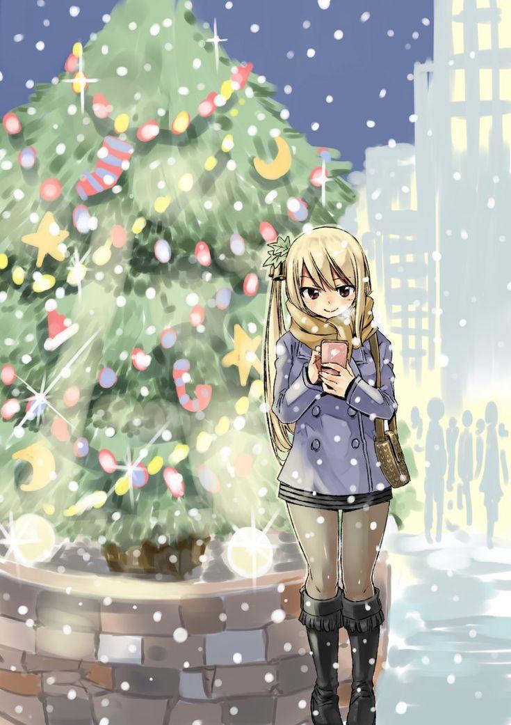 Lucy à Noël