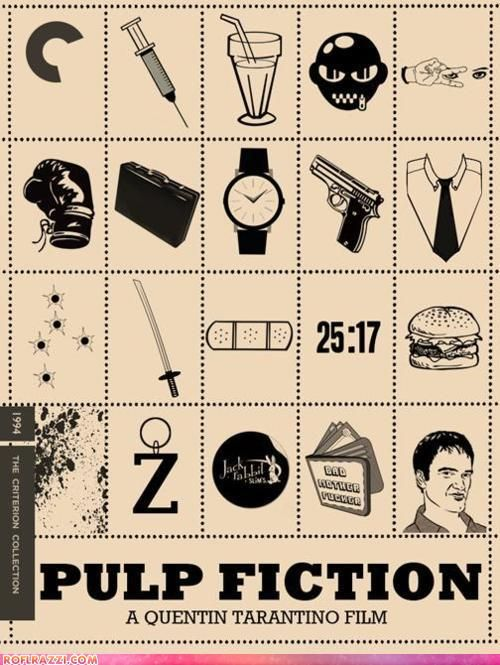 Pulp Fiction: The Criterion Poster #Film #PulpFiction #Tarantino