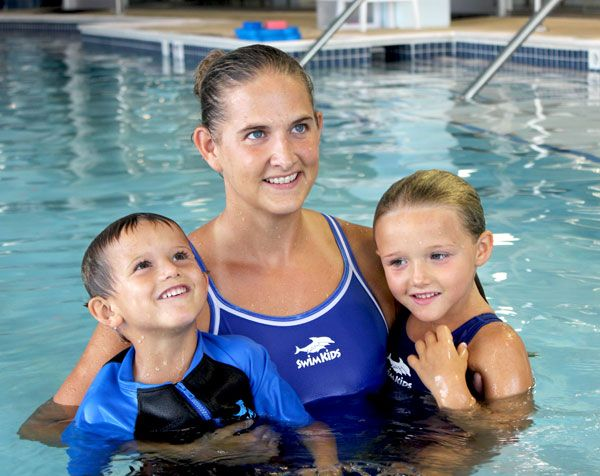 Easy-to-follow video tutorials to help you learn the basics on how to teach your kids to swim.