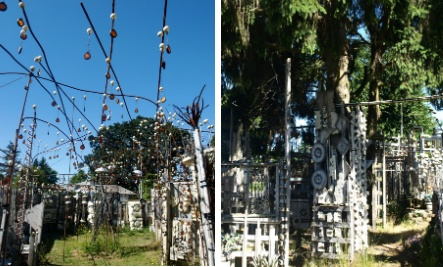 Outsider artist Richard Tracy's amazing Centralia, Washington home is truly a site to be seen. And you're in luck, you can do just that if you give him $5 dollars. Tracy will give you a 55 minute tour of his amazing and ever-changing artistic creation.