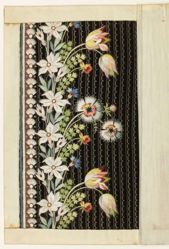 Embroidery Sample, ca. 1785