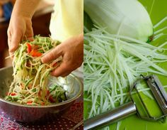 som tam salad - Green papaya salad