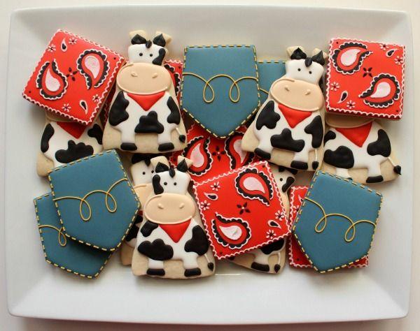 Farm Cookie Platter @SweetSugarBelle {Callye Alvarado}
