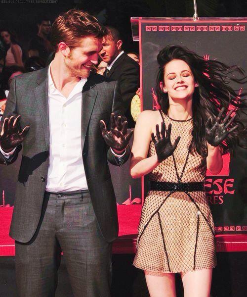 Kristen and Robert.