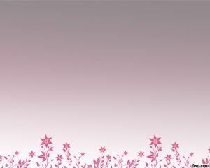Plantilla PowerPoint floreciendo es un fondo de PowerPoint con flores atractivas para presentaciones florales