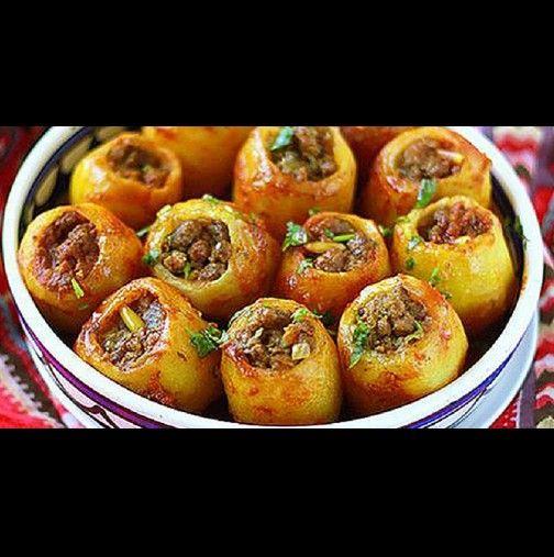 Снощи го видях по готварския канал - хукнах по нощите за картофи! Днес се пръснахме от ядене - няма такава вкусотия!