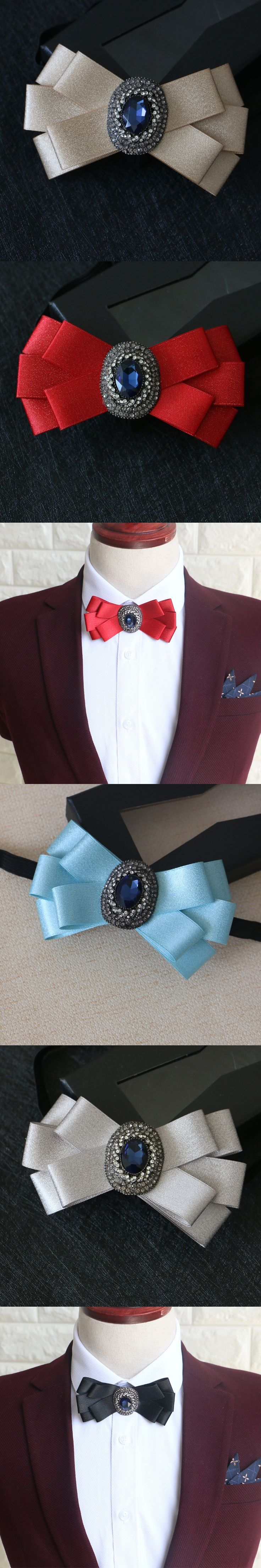 Groomsman Male Marry Diamonds Tie Groom Wedding Correct Korean. Woman Bow Black England Man Tie Neck Ties For Men Necktie