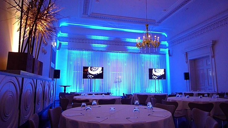Comme Grand room set up for a product launch - Select AV