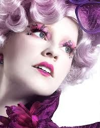 Effie Trinket! I would love to do a hunger games inspired hair and make up competition.