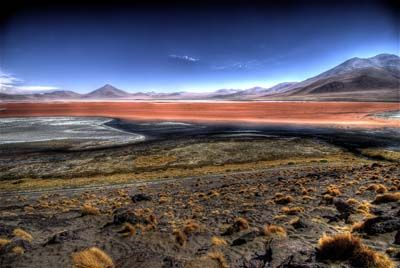 We will get to see the Bolivian volcanos.