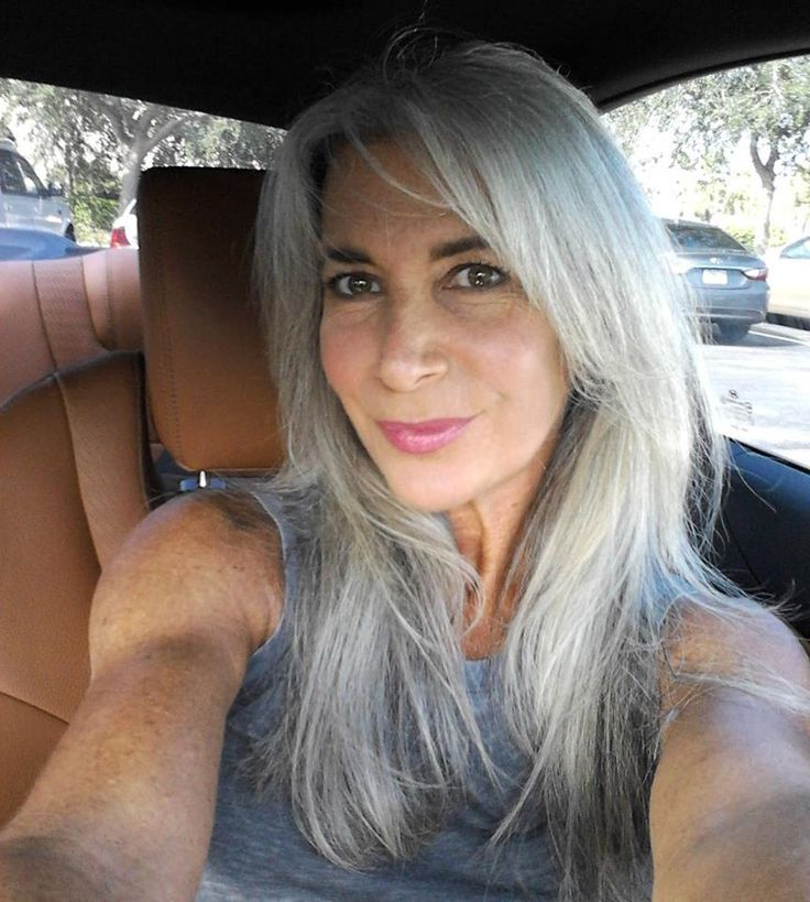Long Gray Hair | beautiful long gray hair, seriously considering letting mine go gray ...
