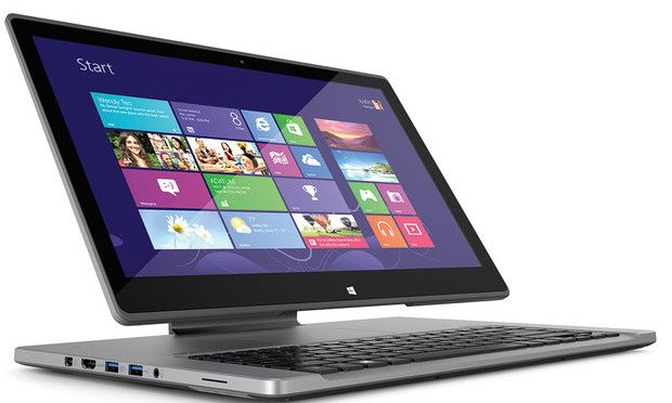 Acer Aspire R7 15.6-inch 'revolutionary' touchscreen notebook launched