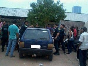 Motorista embriagado é preso em Roraima por invadir escola com carro +http://brml.co/1BZ7aHj