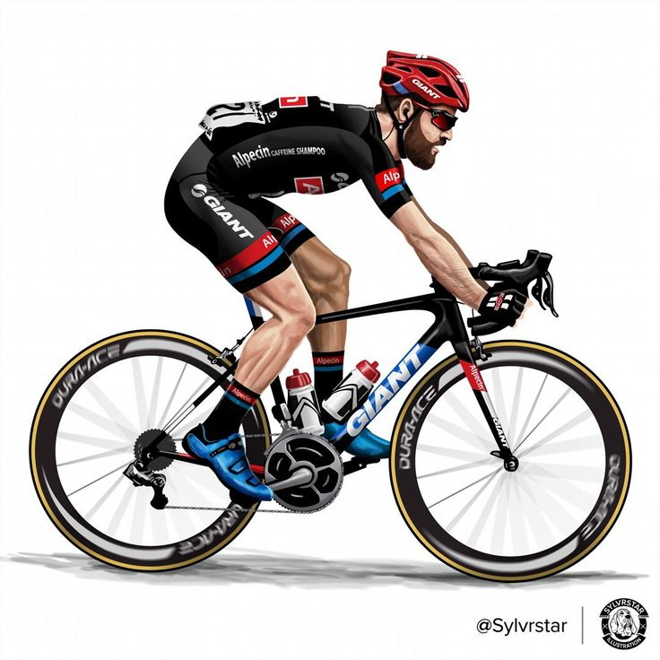 "dfitzger: "" by @sylvrstar: The bearded one! @simongeschke #giantalpecin #ridegiant #cyclingphoto #cycling #illustration #TDF #Germany #allrounder #giroditalia #vueltaaespaña #procycling February 27, 2016 at 02:01PM http://bit.ly/1S8QSFt """