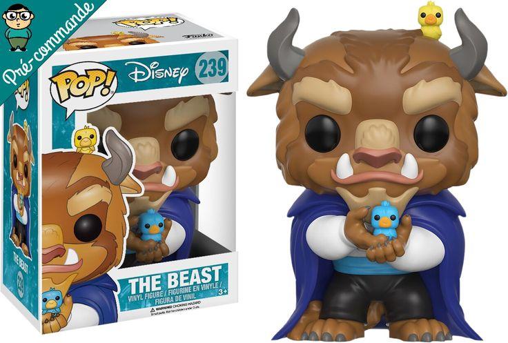 Préco - Beauty and the Beast Funko Pop The Beast - Funko POP!/Pop! Disney - Little Geek