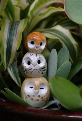 clay owl friends: Harry Potter inspired owlery! :)
