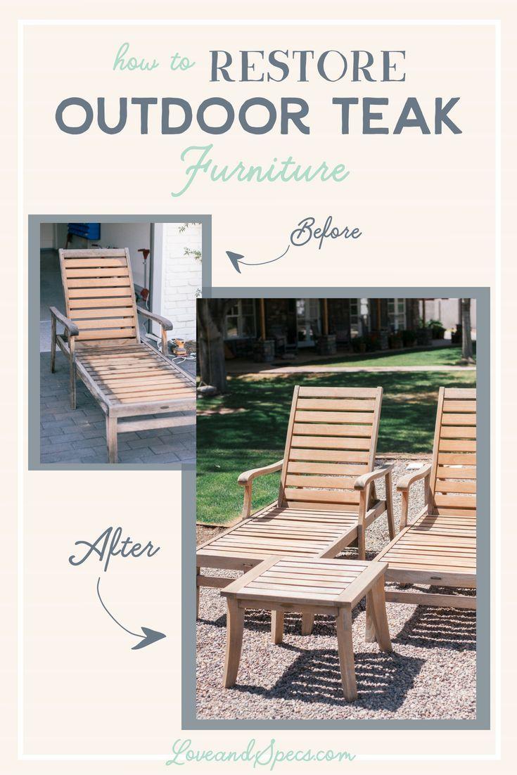How To Restore Teak Wood Furniture Teak Outdoor Furniture Patio Teak Outdoor Furniture Teak Patio Furniture
