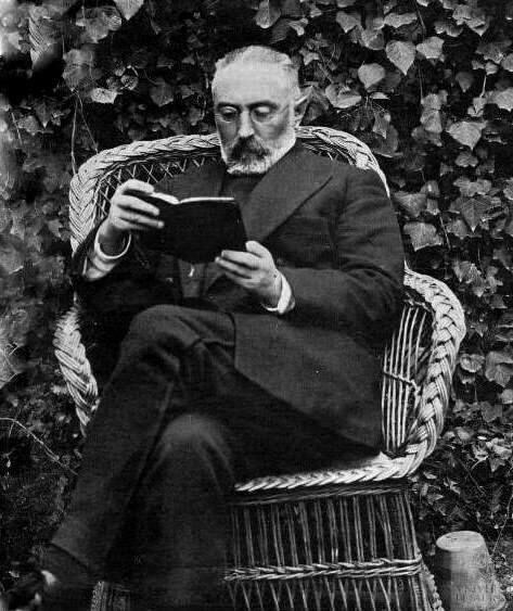 Miguel de Unamuno y Jugo (29 September 1864 – 31 December 1936) was a Spanish essayist, novelist, poet, playwright, philosopher, and Greek professor and later rector at the University of Salamanca.  His major philosophical essay was The Tragic Sense of Life (1913), and his most famous novel was Abel Sánchez: The History of a Passion (1917), a modern exploration of the Cain and Abel story.