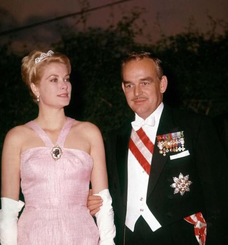 Princess Grace And Her Husband Rainier Iii Prince Of