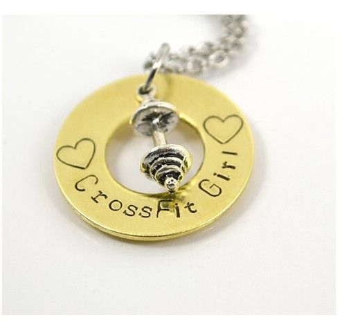Cross Fit Girl Necklace