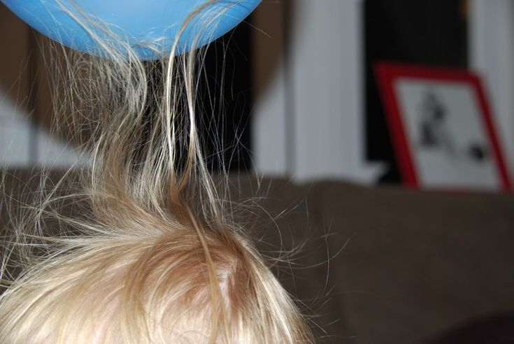 Kid Friendly Static Electricity