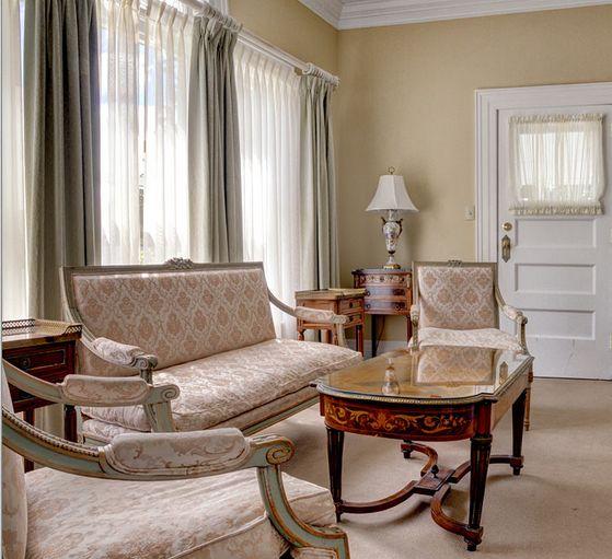 Enjoy the elegant accommodations.