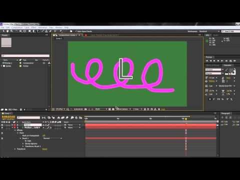 ▶ AE Basics 51: Paint 5 Panel Options Part FOUR: PATHS - YouTube