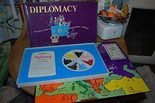 Vintage Diplomacy Board Game 1971