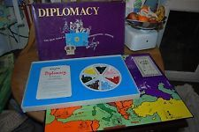 Vintage Diplomacy Board Game 1971