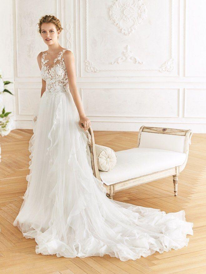 Brautkleider Trends 2019 Das Sind Die Schonsten Hochzeitskleider