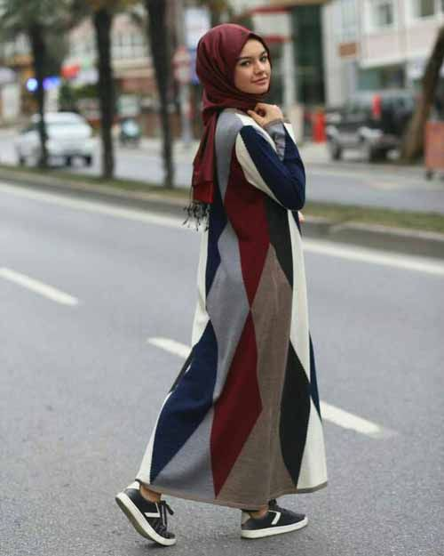 Winter dress with hijab-Winter outwears with hijab – Just Trendy Girls