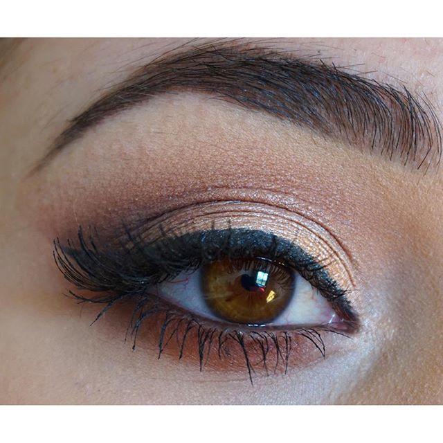 Morphe 350 Palette eyeshadow look