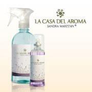 Aromatizadores de La Casa del Aroma: disfrutá de más de 40 fragancias en sus dos presentaciones, 120ml y 500ml.