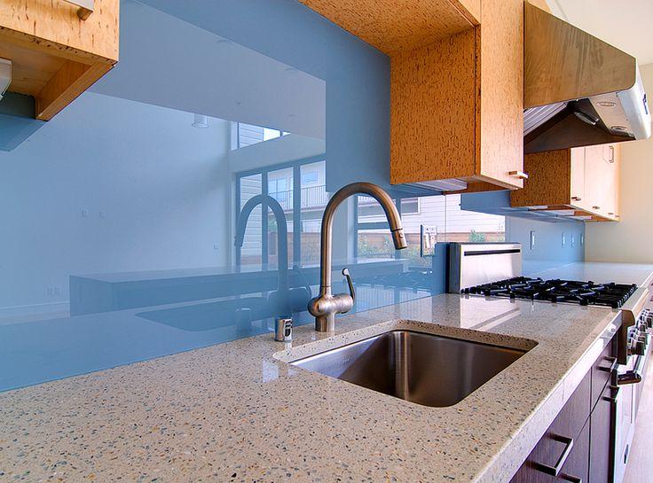 25+ beste ideeën over Glaswand küche op Pinterest - Openslaande - küche spritzschutz wand