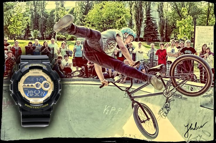 SK8 & G-Shock