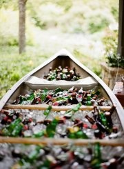 Cooler!!: Old Boats, Outdoor Wedding, Beer, S'Mores Bar, Boats Drinks, Outdoor Parties, Cool Ideas, Canoes Coolers, Events Plans