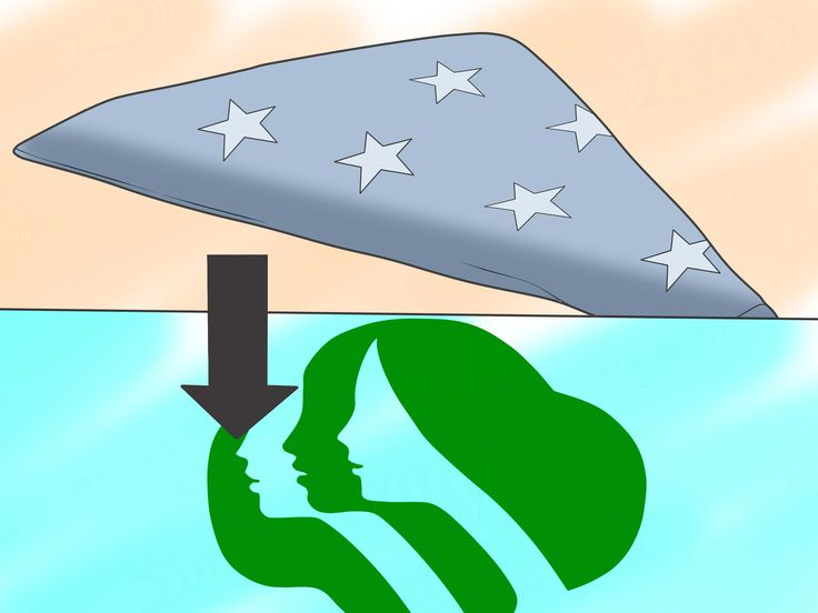 How to Dispose of a Damaged American Flag -- via wikiHow.com