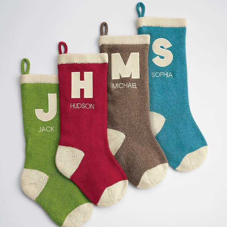 Ordinary Monogrammed Christmas Stockings Part - 2: 126 Best The Stockings Were Hung... Images On Pinterest | Christmas Ideas,  Christmas Time And Merry Christmas