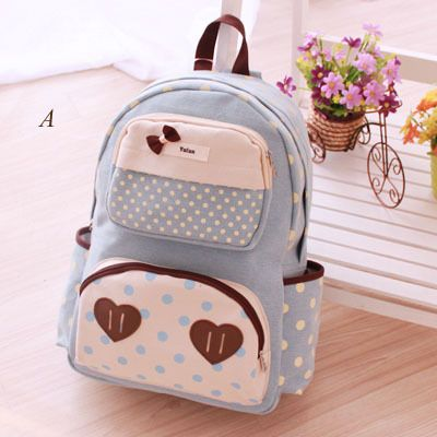 Style: Backpack  Material: Canvas   Visiting Store: http://cuteharajuku.storenvy.com  find more cute fashion things, some suit for you!
