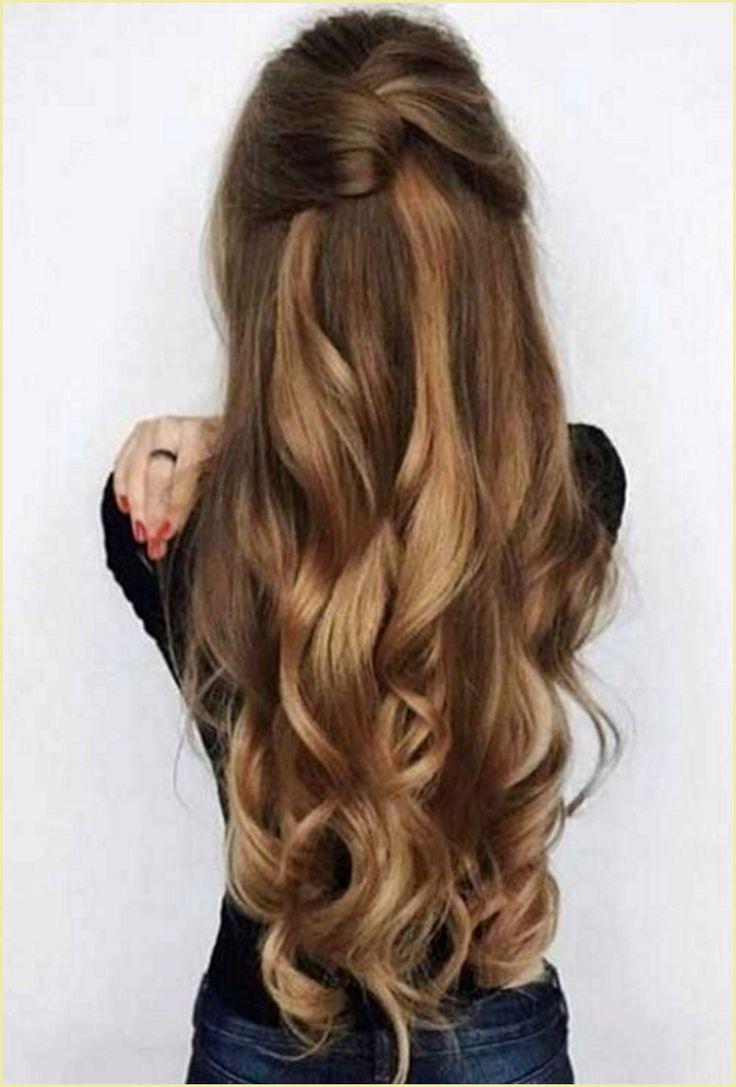 Halboffene Frisuren Mittellange Haare Frisuren Lange Haare Anleitung