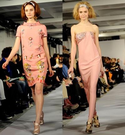 Oscar de la Renta Vestidos encima de la rodilla y largos en con detalles que enmarcan la perfeccion.